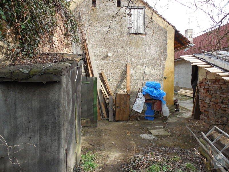 Přístavba kotelny k rodinnému domu: misto_kotelna