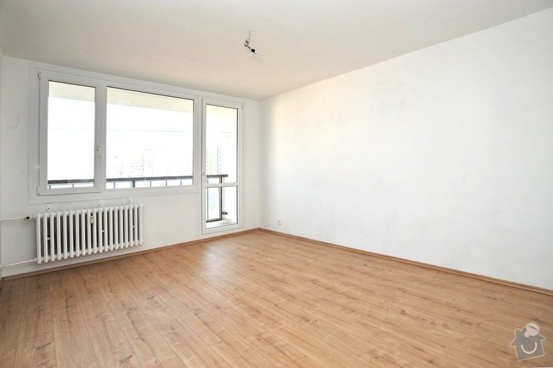 Rekonstruce bytu v panelovém domě: po_-_obyvak