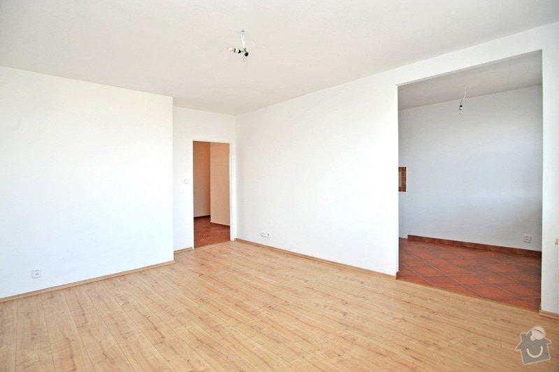 Rekonstruce bytu v panelovém domě: po_-_obyvak_kuchyn