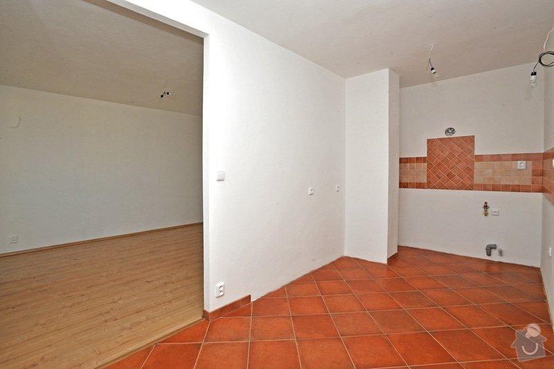 Rekonstruce bytu v panelovém domě: po_-_kuchyn_obyvak