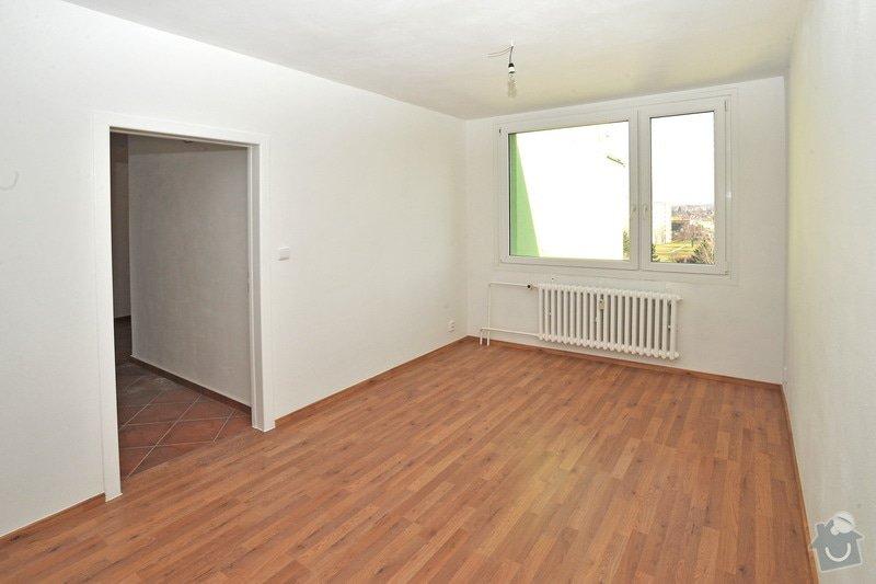Rekonstruce bytu v panelovém domě: po_-_pokoj