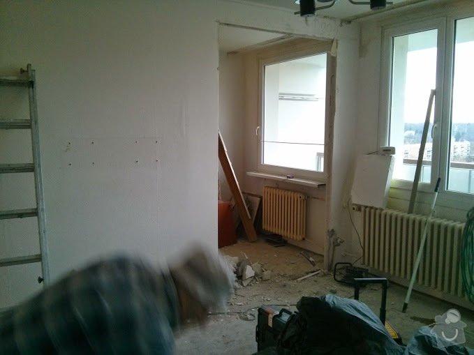 Rekonstruce bytu v panelovém domě: pres_-_ovyvak_kuchyn