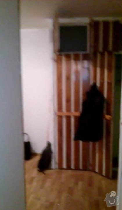 Rekonstruce bytu v panelovém domě: pred_-_chodba