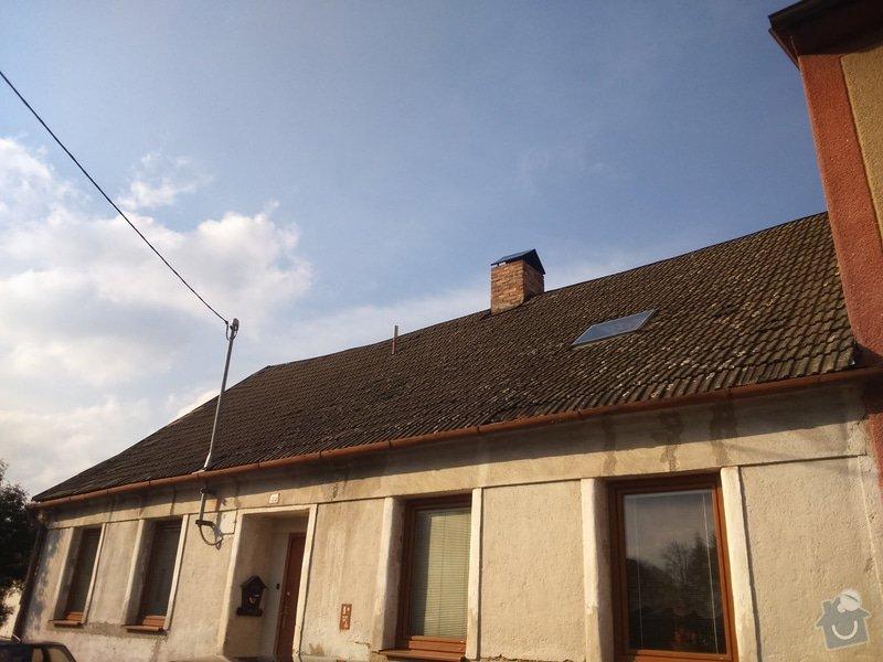 Rekonstrukce sedlové střechy: DSC_0027