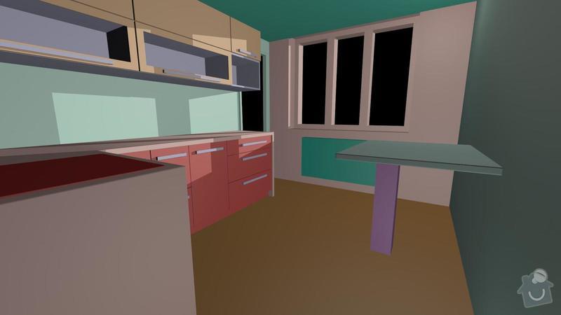 Výroba, montáž kuchyňské linky: kuchyn3