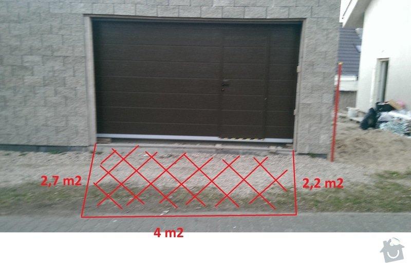 Zámková dlažba - vjezd do garáže: vyznaceni_s_rozmery