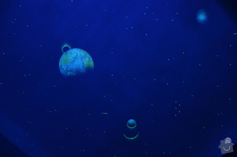 Noční nebe v pokoji pro náročné malé zákazníky :-): DSC_0008