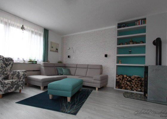 Obývací pokoj s vůní dálek