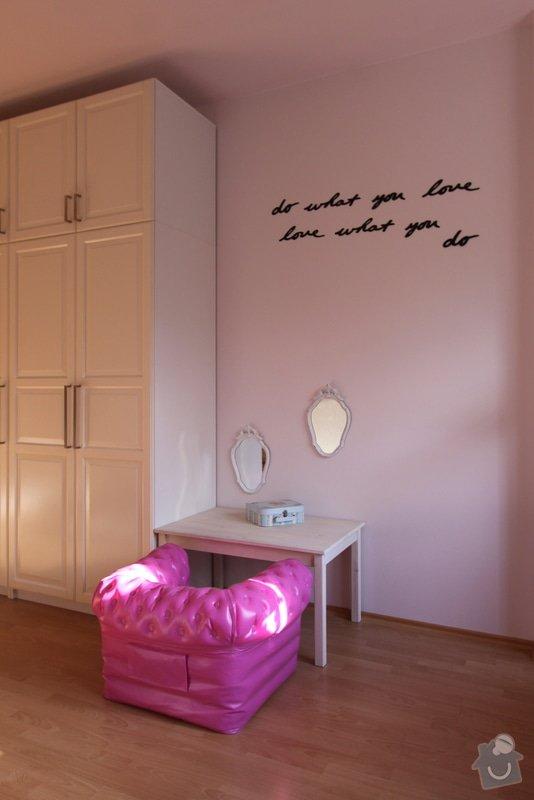 Design dětského pokoje: koutek_pro_princeznu