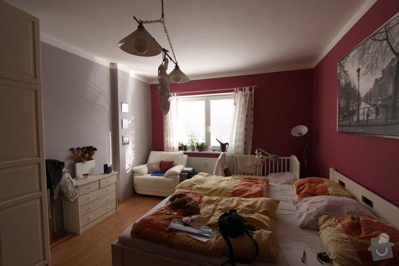Design dětského pokoje: vzadu_lampa