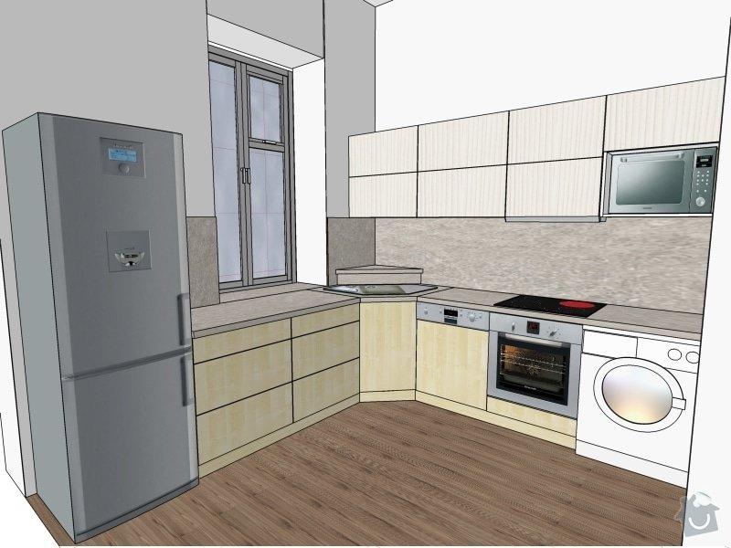Kuchyňská linka se spotřebiči: Pippingerova-Kuchyne