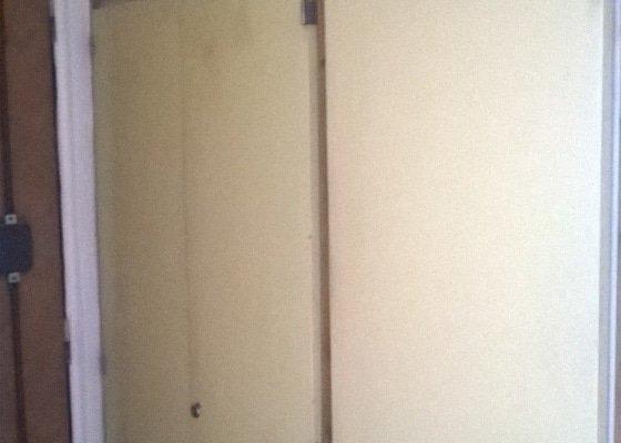 Renovace dveří vestavěných skříní