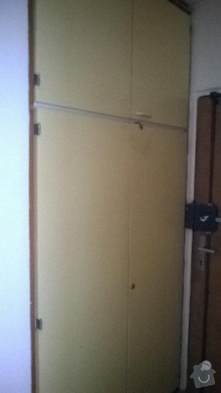 Renovace dveří vestavěných skříní: WP_20150321_002