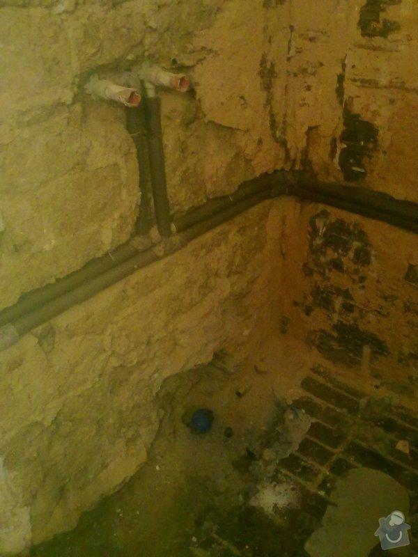 Rekonstrukce koupelny v chalupě: podzim_2014_prace_008