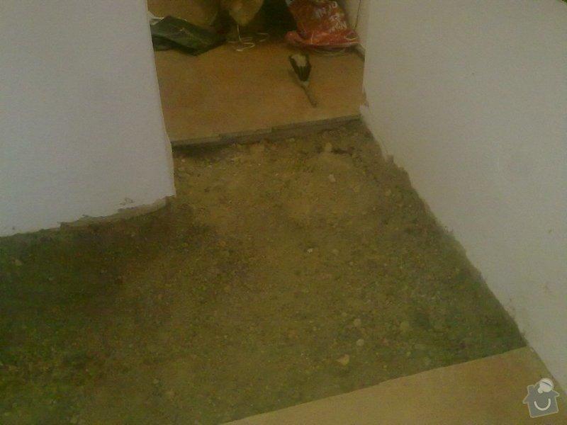Rekonstrukce koupelny v chalupě: podzim_2014_prace_055