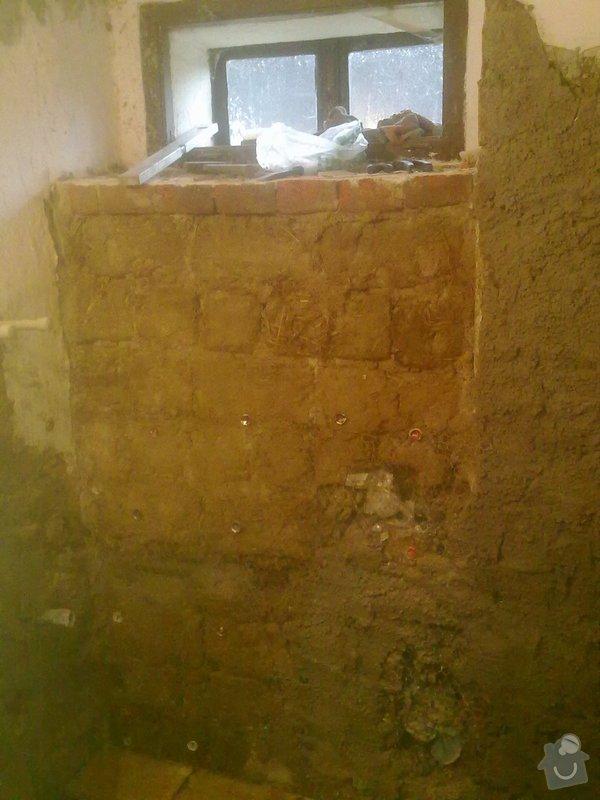 Rekonstrukce koupelny v chalupě: podzim_2014_prace_056