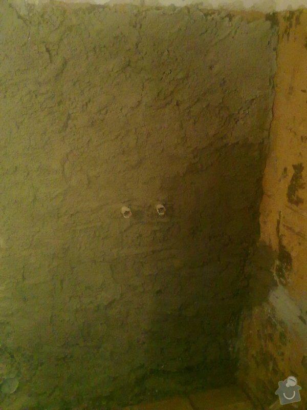 Rekonstrukce koupelny v chalupě: podzim_2014_prace_057