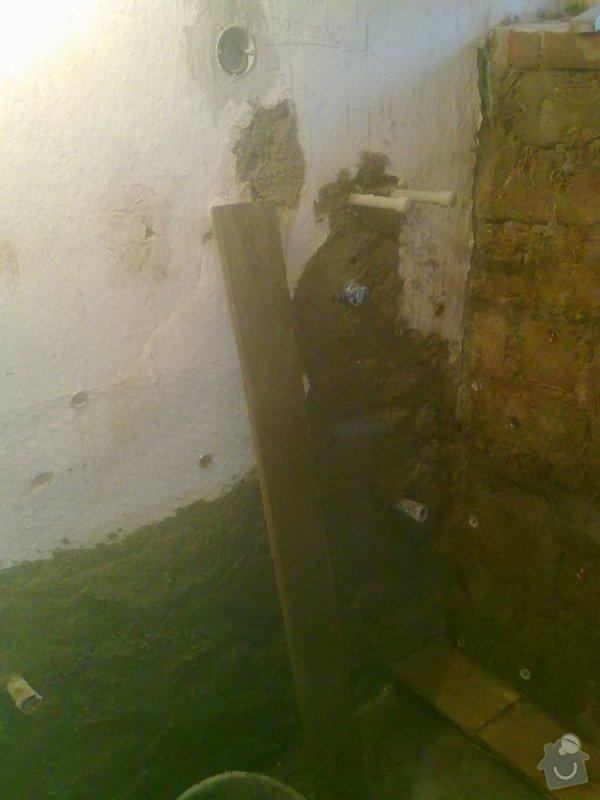 Rekonstrukce koupelny v chalupě: podzim_2014_prace_058