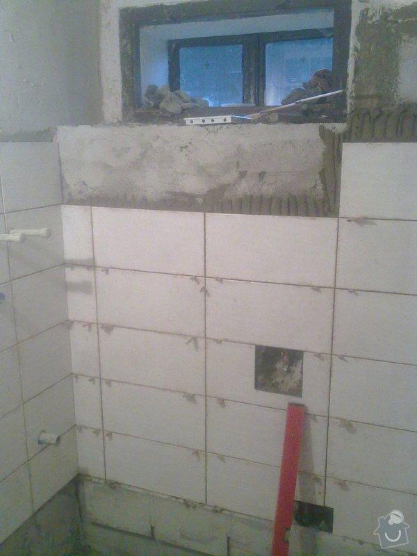 Rekonstrukce koupelny v chalupě: podzim_2014_prace_062
