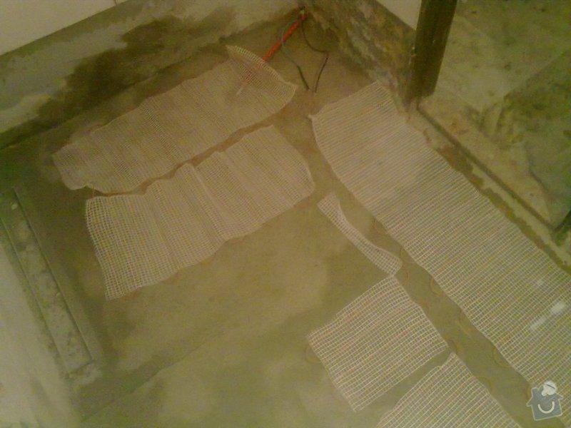 Rekonstrukce koupelny v chalupě: podzim_2014_prace_067