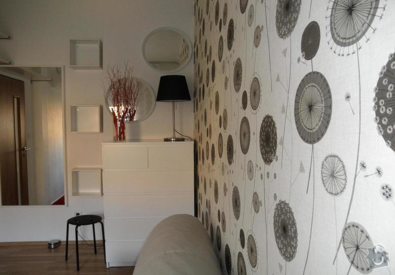Zařízení obývacího pokoje: 07-realizace