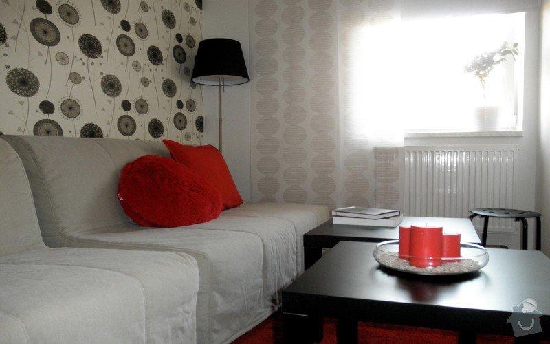Zařízení obývacího pokoje: 08-realizace
