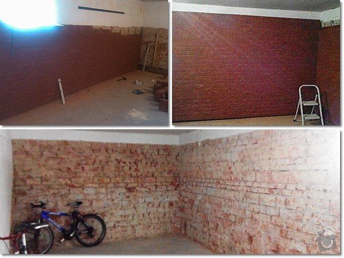 Obložení zdi v interiéru: page