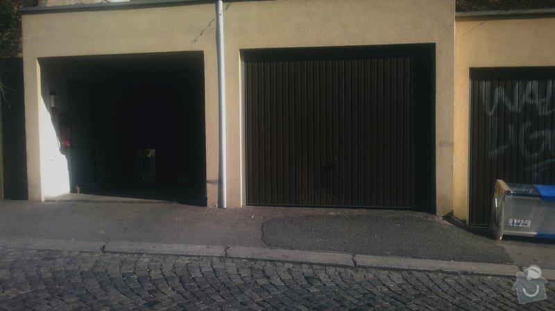 Výměna výklopných vrata za sekční: 2015-03-20-1077