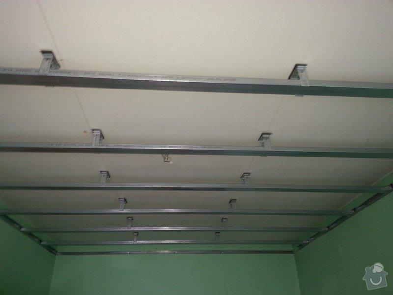 Odhlučnění stropu v 1 pokoji: 20150223_110354