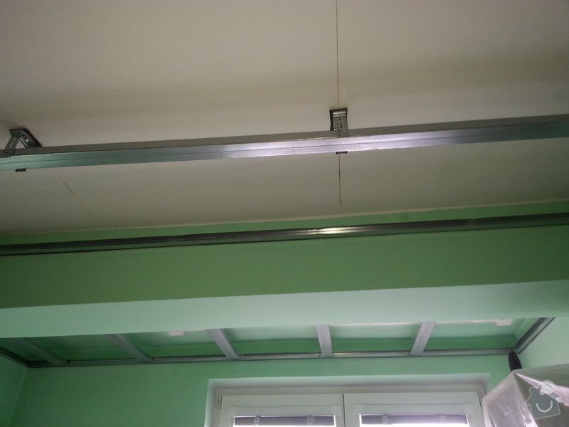 Odhlučnění stropu v 1 pokoji: 20150223_110406