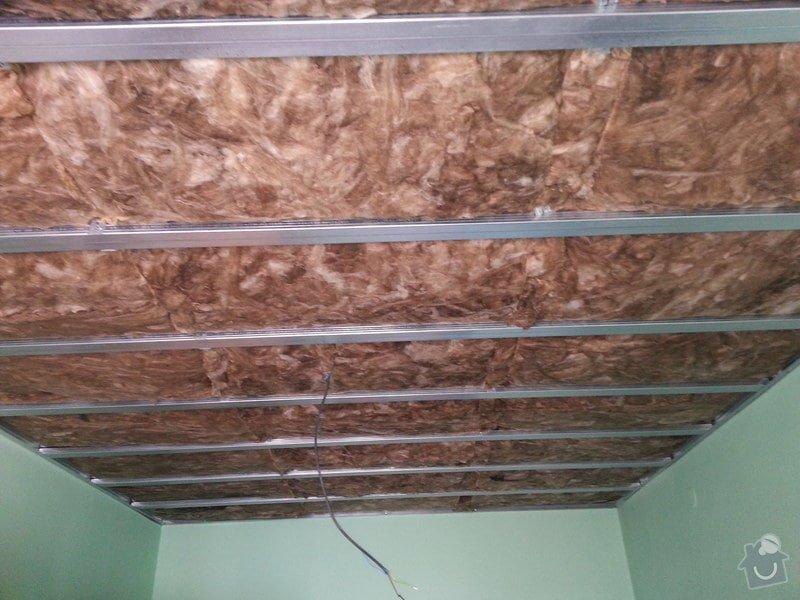 Odhlučnění stropu v 1 pokoji: 20150223_124013