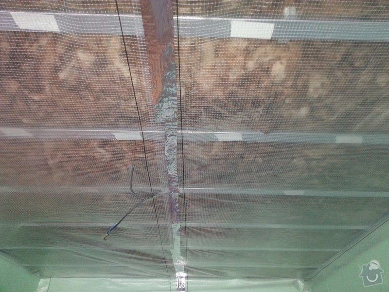 Odhlučnění stropu v 1 pokoji: 20150223_130323