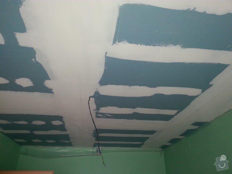 Odhlučnění stropu v 1 pokoji: 20150224_093815