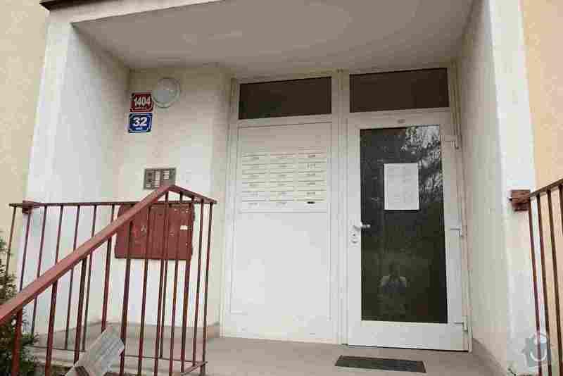 Cenová nabídka na rekonstrukci vchod.dveří a schránek v paneláku: Foto_1