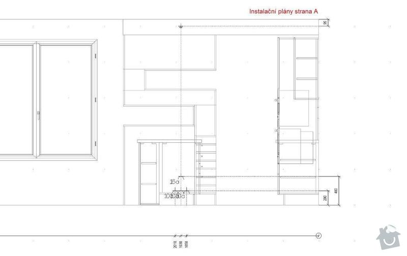Stavebni prace příprava na kuchyn: Instalacni_plany_strana_A