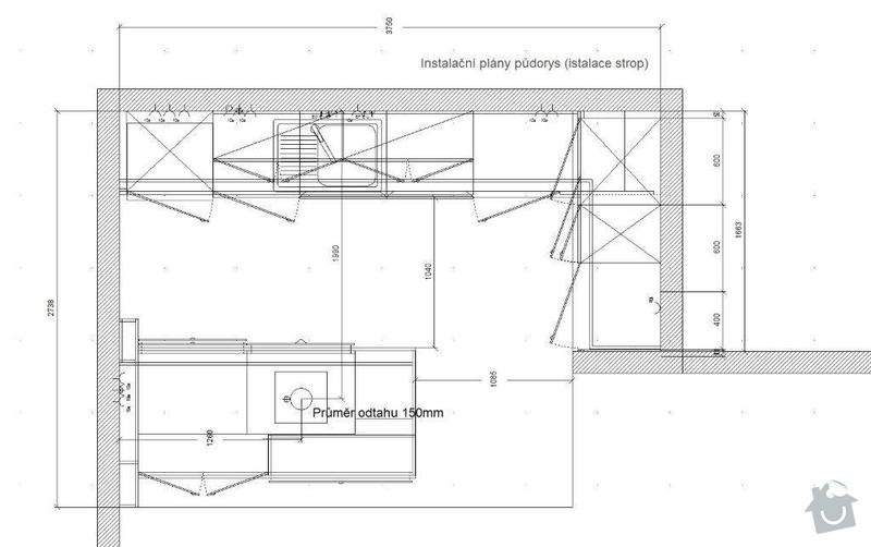 Stavebni prace příprava na kuchyn: Instalacni_plany_strop