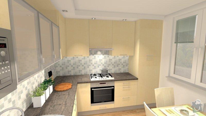 Kompletní rekonstrukce bytu 4 + 1 v Bystrci: var1_pohled1