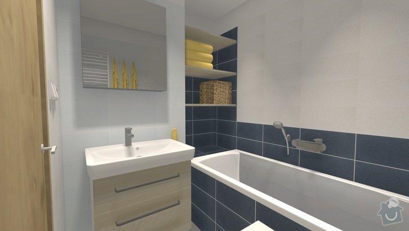 Kompletní rekonstrukce bytu 4 + 1 v Bystrci: var3_pohled3