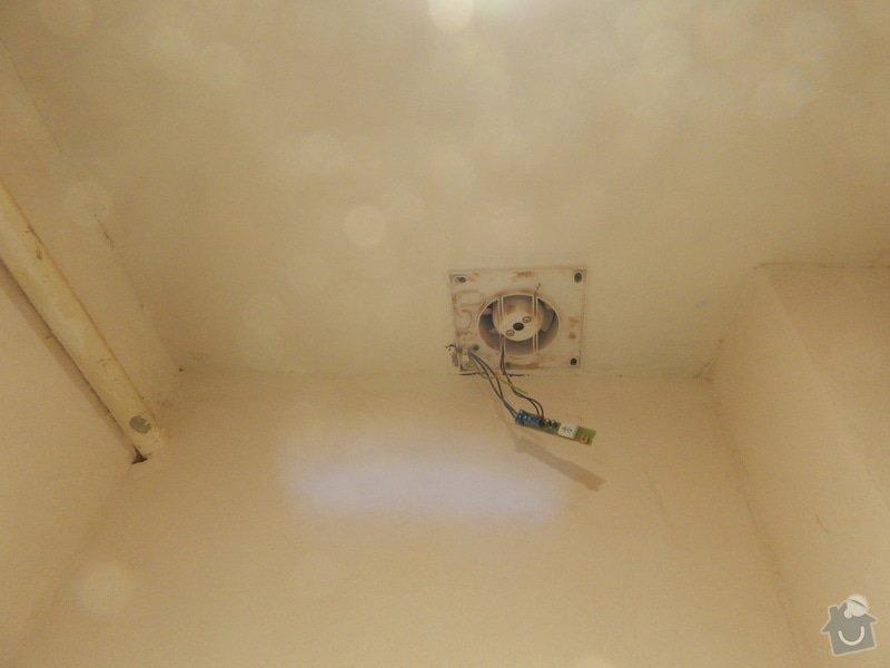 Rekonstrukce koupelny, toalety: DSCN2441