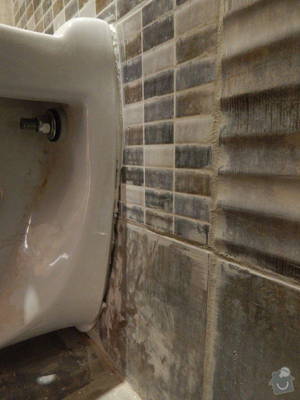 Rekonstrukce koupelny, toalety: DSCN2445