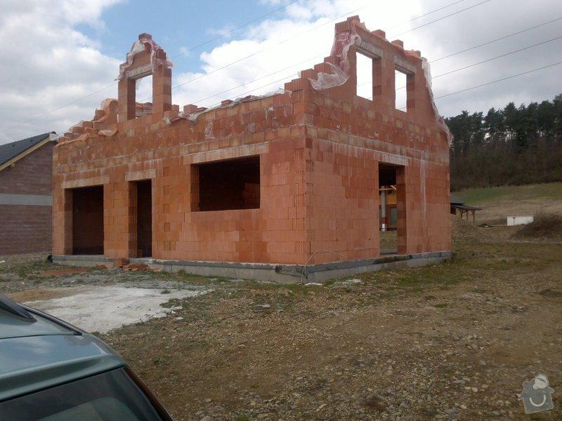 Dostavba rodinného domku na klíč: stavba_1