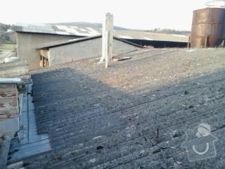 Oprava střechy hospody na kravíně: strecha