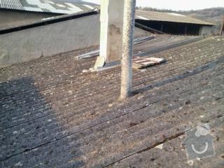 Oprava střechy hospody na kravíně: strecha2