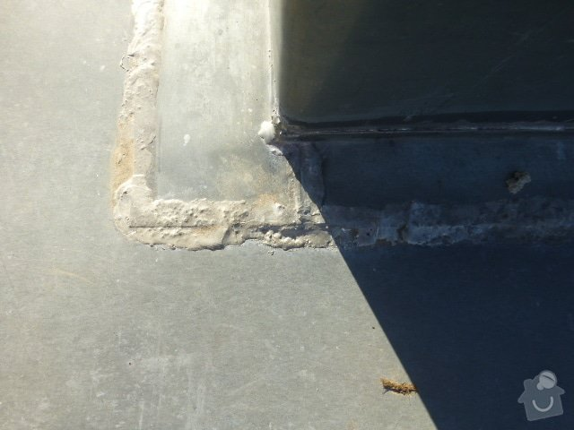 Klempířskou práci na střeše: P1070321