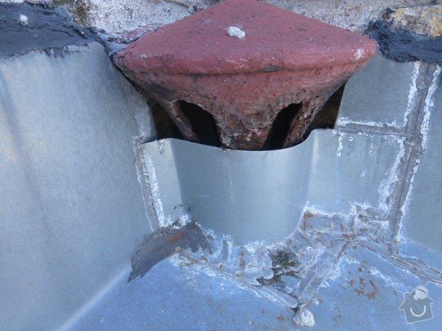 Klempířskou práci na střeše: P1070323
