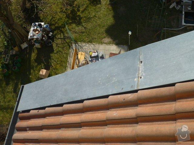 Připevnění střešního oplechování: P1070325