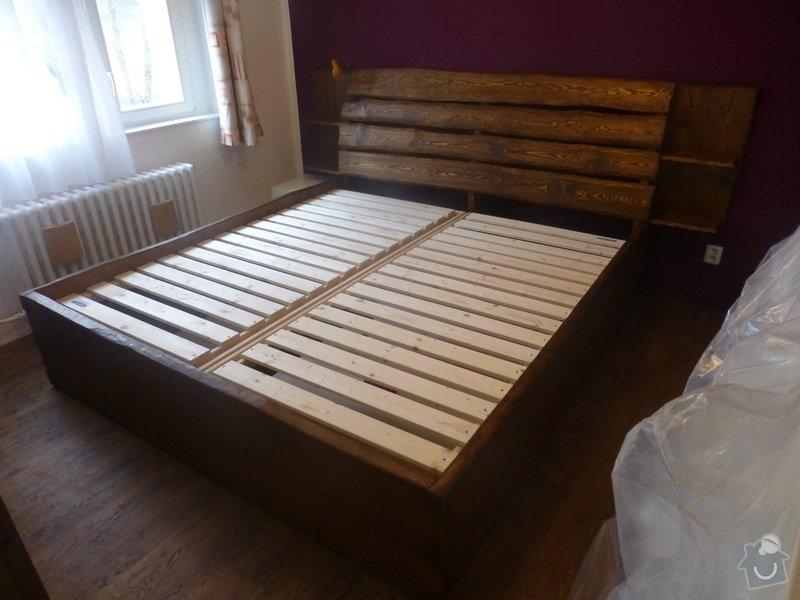 Manželská postel z masivu: P1060792
