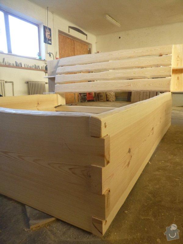 Manželská postel z masivu: P1060280