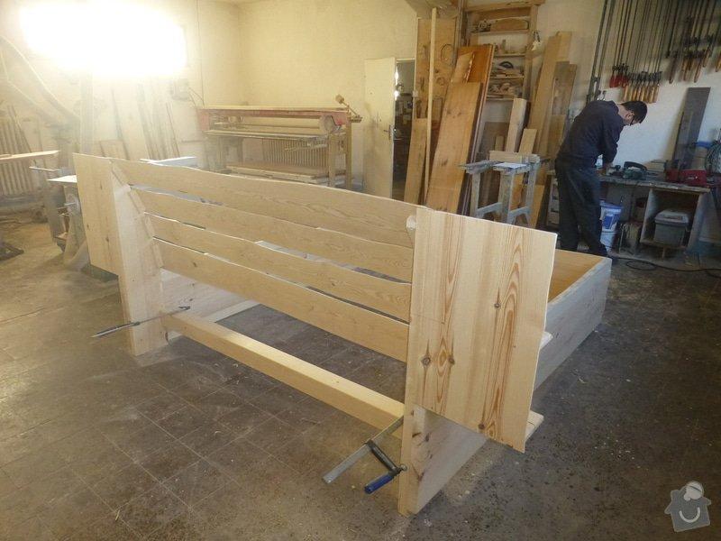Manželská postel z masivu: P1060284