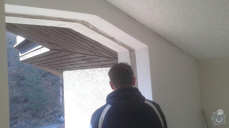 Výměna dřevěných oken za nová plastová: 20150328_145304